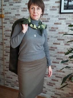 Работа с названием Простая непростая юбка