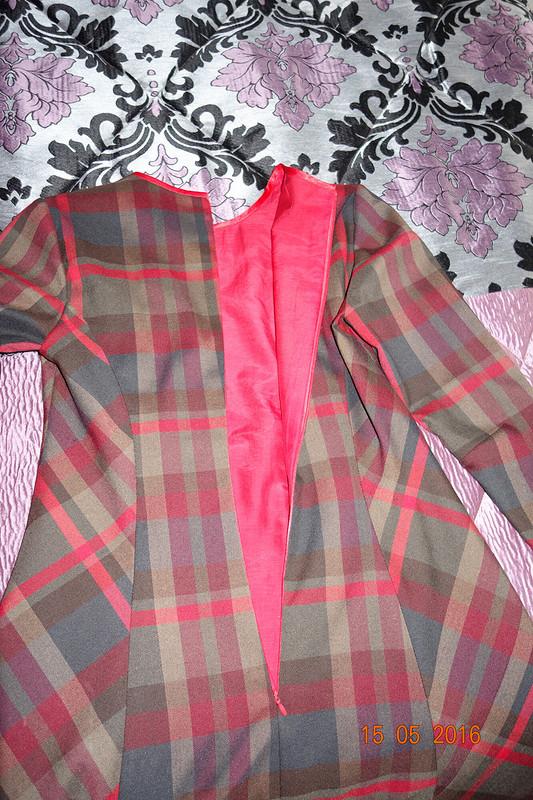 Платье изшотландки