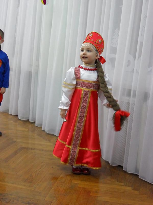 Русский костюм или Варвара Краса-длинная коса