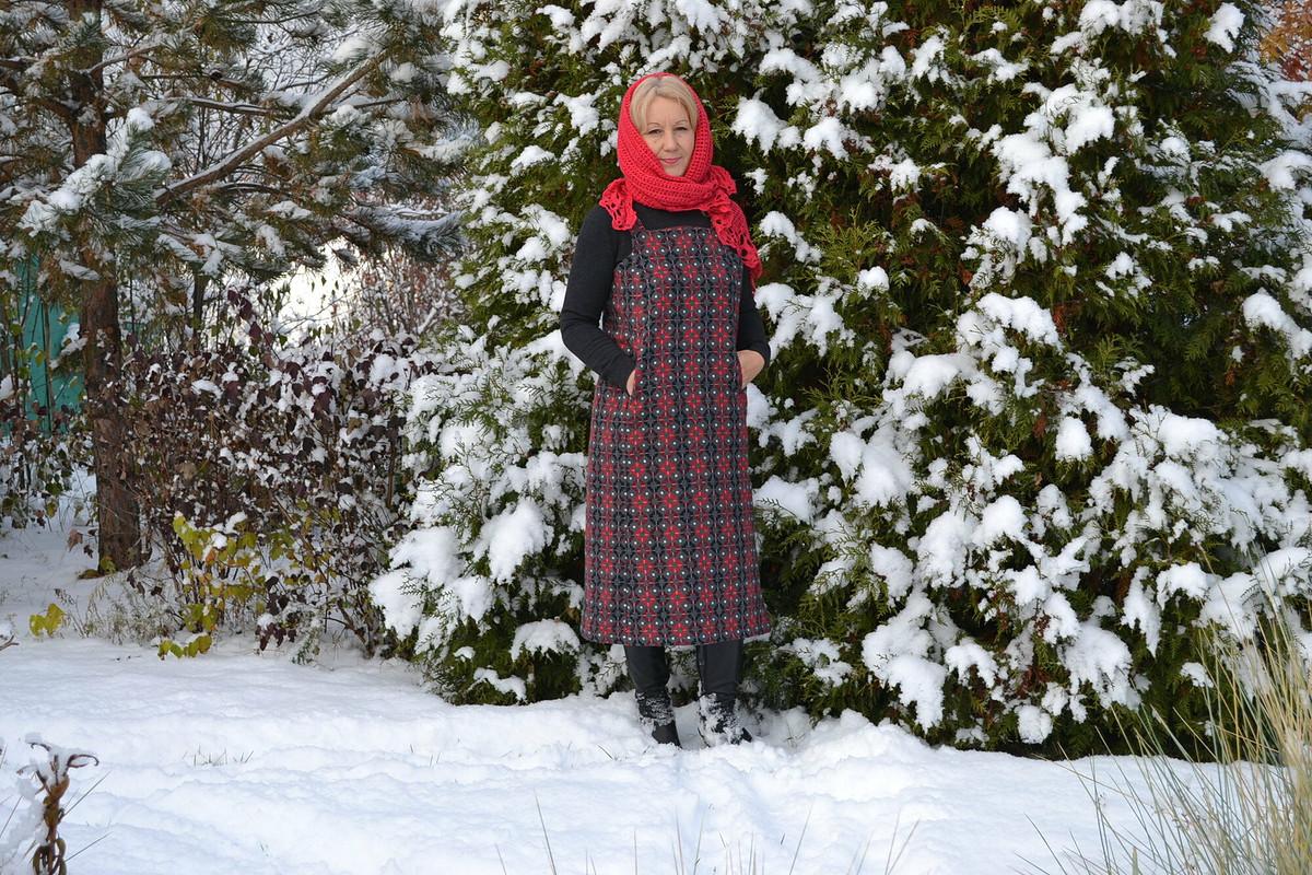 Зимний сарафан от Rozali