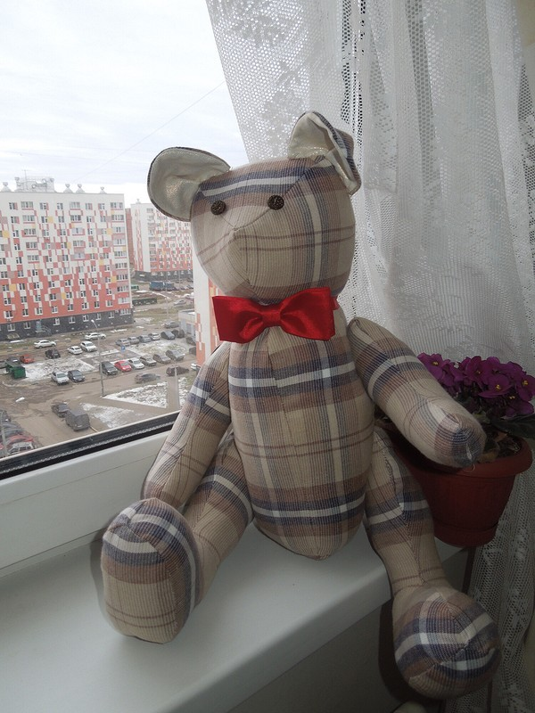 Мишка-джентельмен