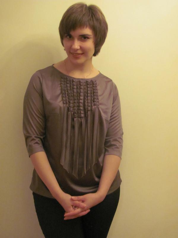 Блузка поджакет от JuliettaR