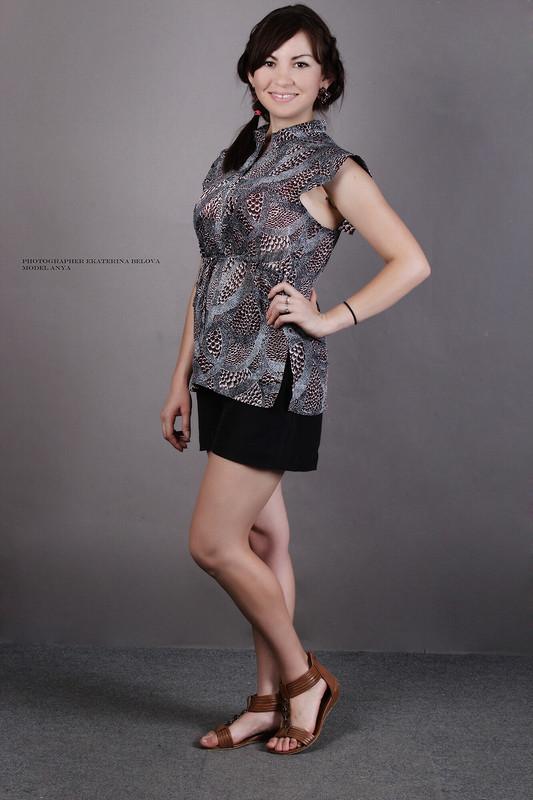 Новая блузка изстарой ткани