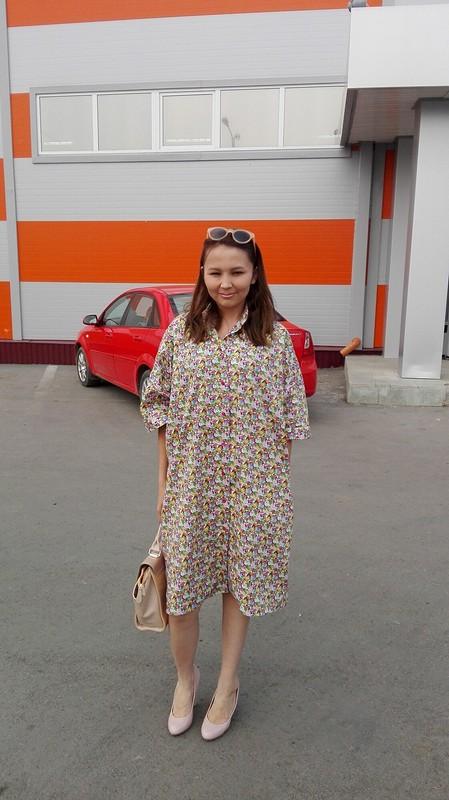 Бабушкин халат от Lina17