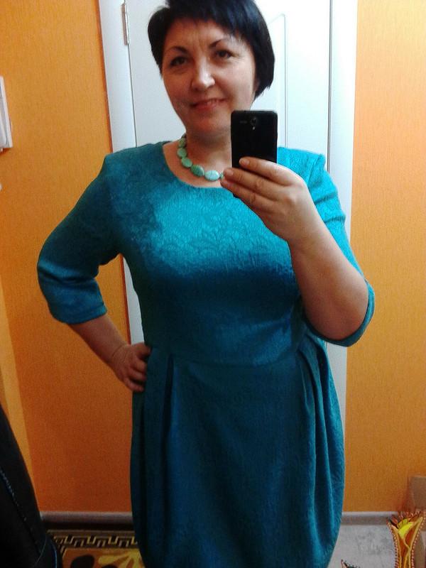 Платье плюсикам