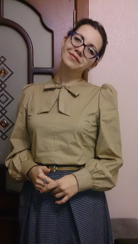 Блузка - супер!!! от Svetlana az