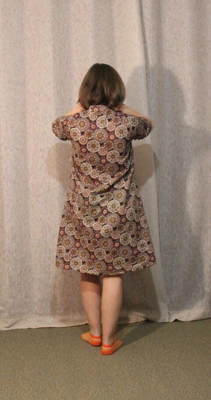 Домашнее платье от fortuna