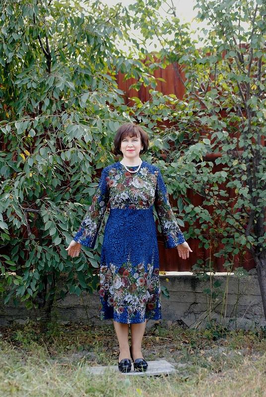 Нарядное платье скаймой