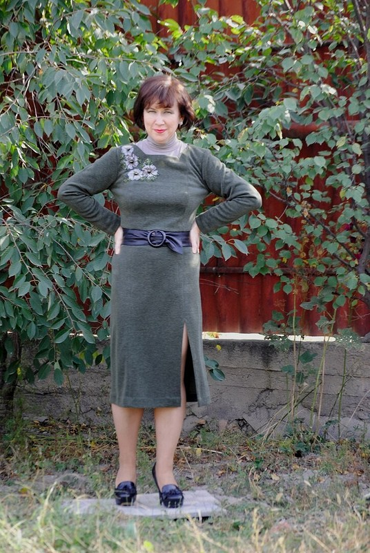 Из платья получился костюм от Olga_kz