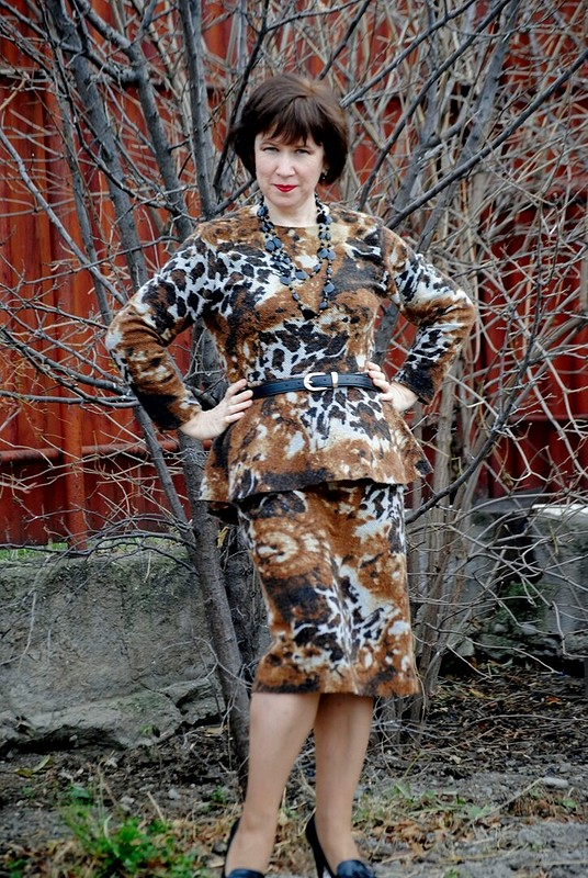 Теплый костюм изтрикотажа от Olga_kz