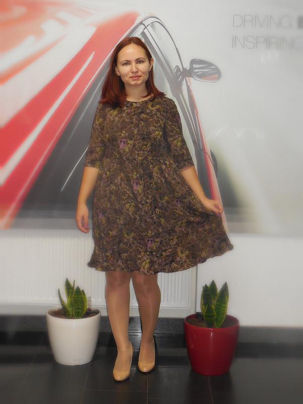 Платье изкрепа