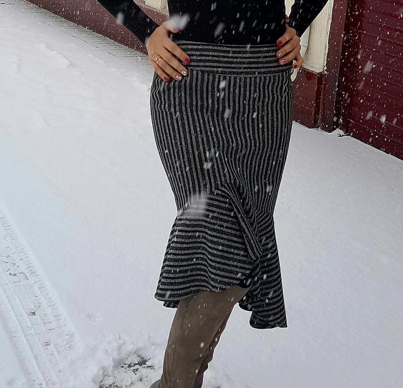 Полосатая юбка- старушка изжурнала за2003г