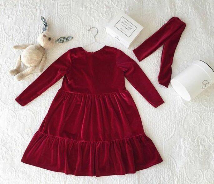 Бархатное платье от silisa