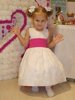 Работа с названием Платье на 2 годика для дочки