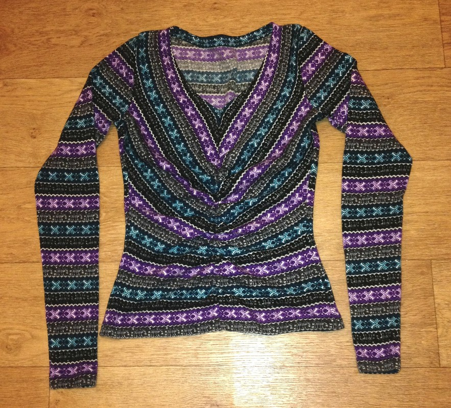 Пуловер насборке от wardrobecreator