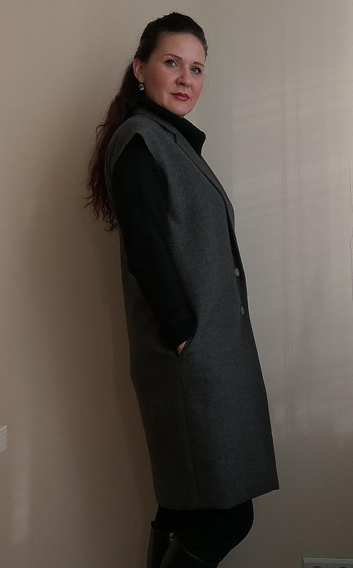 Пальто безрукавов