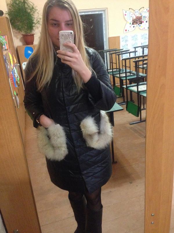 Куртка смеховыми карманами