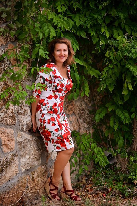 Платье срозами от Ольга Хомич