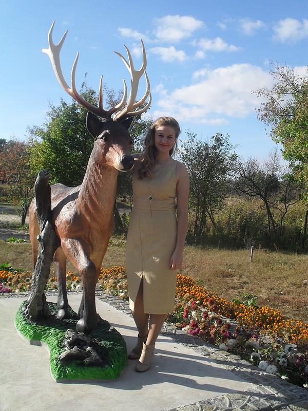 Платье-футляр от Anna vom Dach