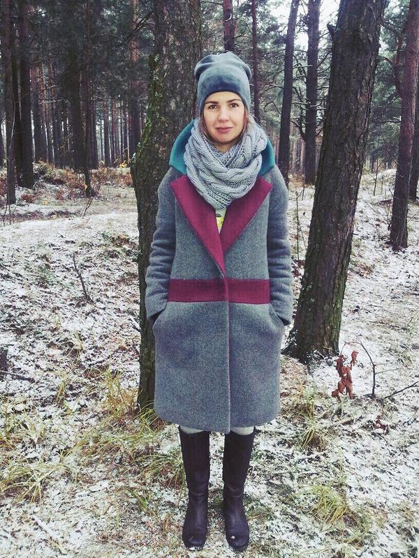 Пальто нахолодную осень