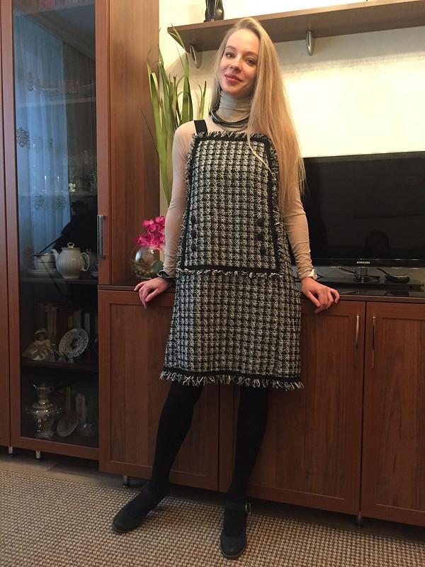 Тёплый сарафан от Lusy_Bychkova