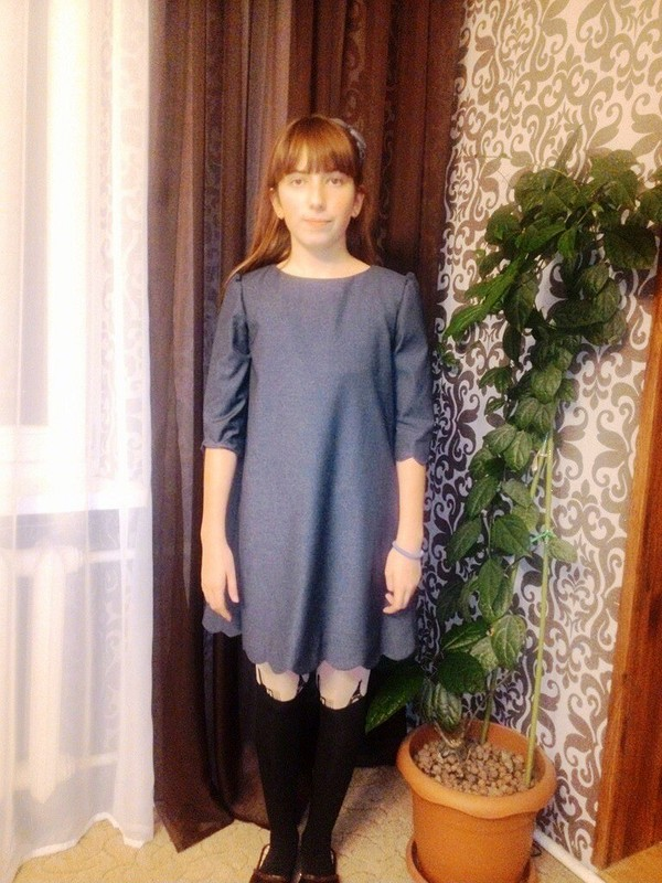 Платье вшколу