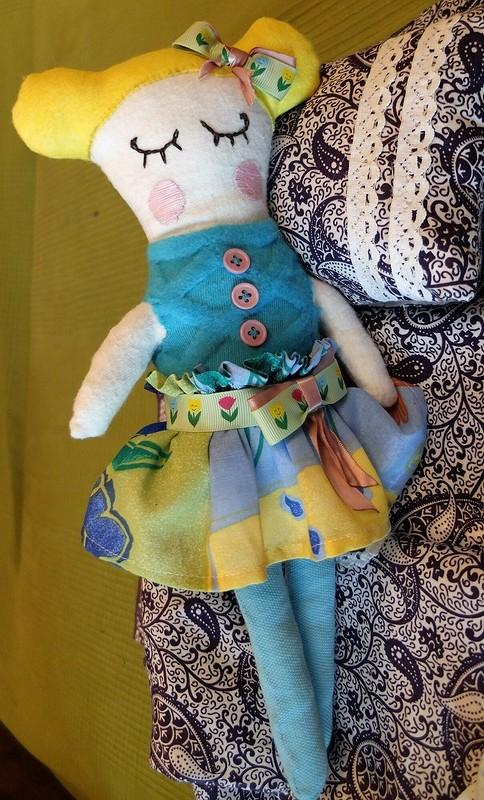 Кукла Сплюха