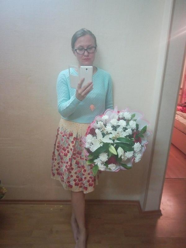 Цветочная юбка от anutka7945