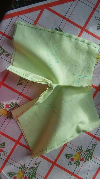 Модные кюлоты наоснове прямой юбки. Часть 2— шьем