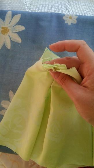 Модные кюлоты наоснове прямой юбки. Часть 2 - шьем