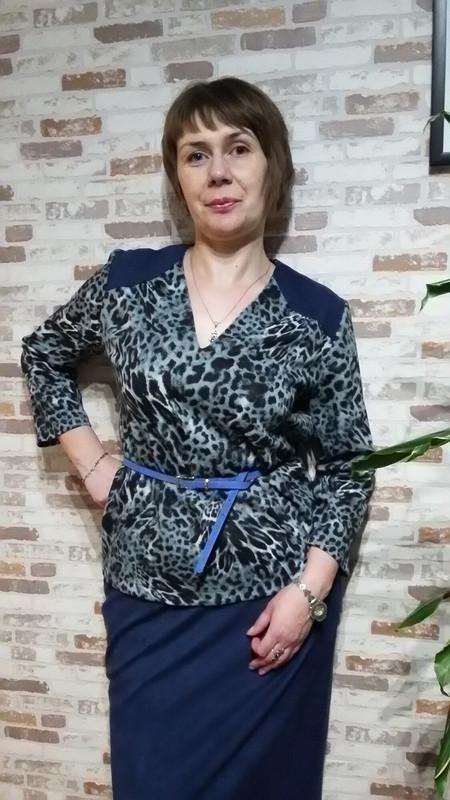 «Хищная» блузка