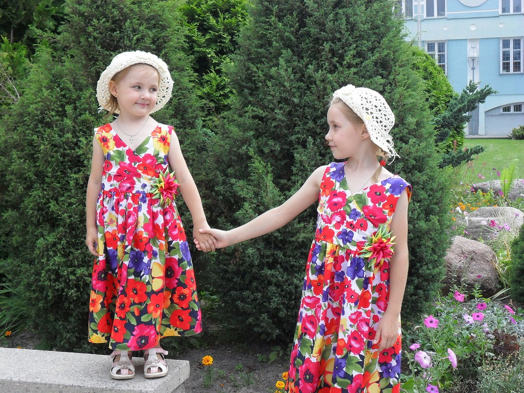 Платья длямоих девчонок от Elenka-Elenka