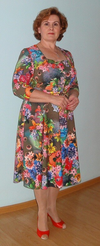 Ноябрьское платье