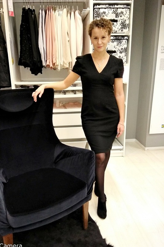 Черное платье Шарман