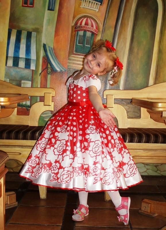 Выпускное платье вдетский сад