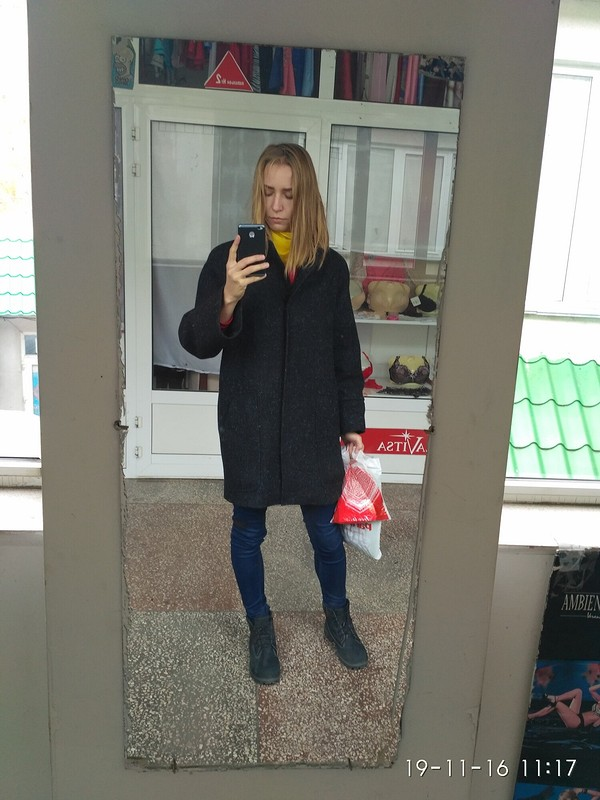 Мое первое пальто! от Olb4a