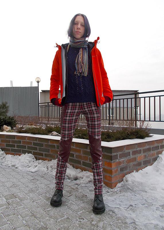 Яркие брюки от HelSkaperen