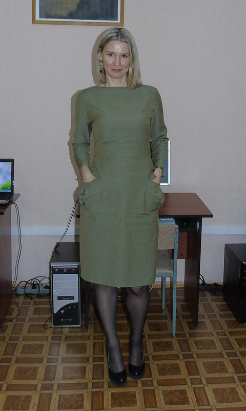 Платье сафари от анжель
