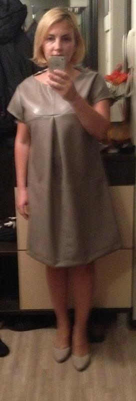 Маленькое кожаное платье