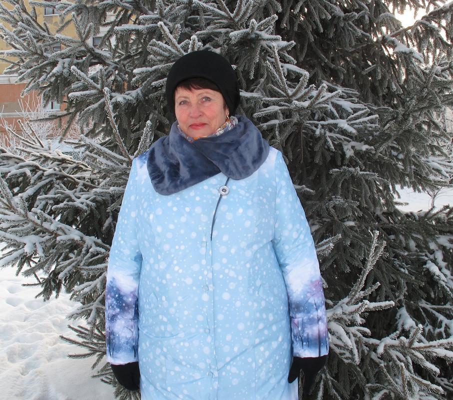 Пальто «Зимний лес» от Elena_ Egorova
