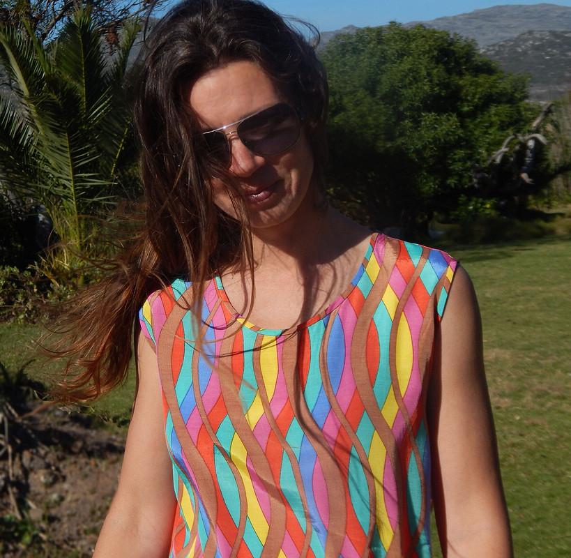 Психоделическое платье, привет из70х