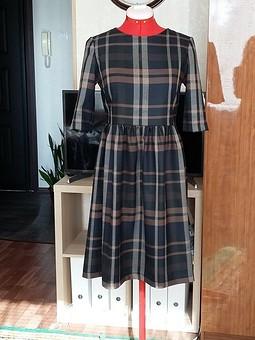 Работа с названием Уютное, теплое платье на каждый день