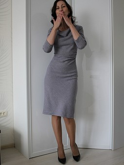 Работа с названием 3 платья по любимой выкройке