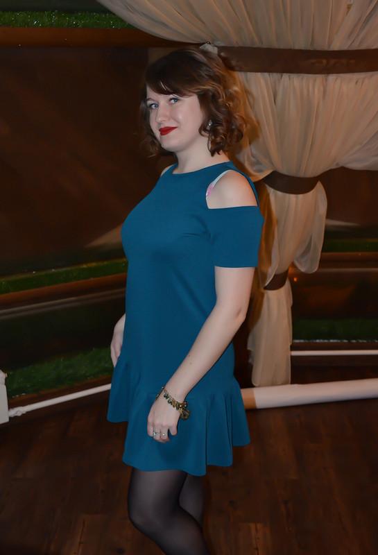 Платье цвета мурена