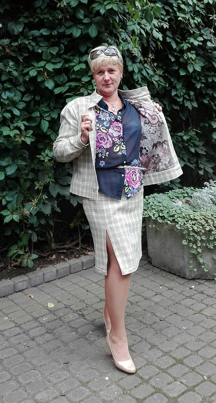 Шанель натрикотаже от OksanaRiga