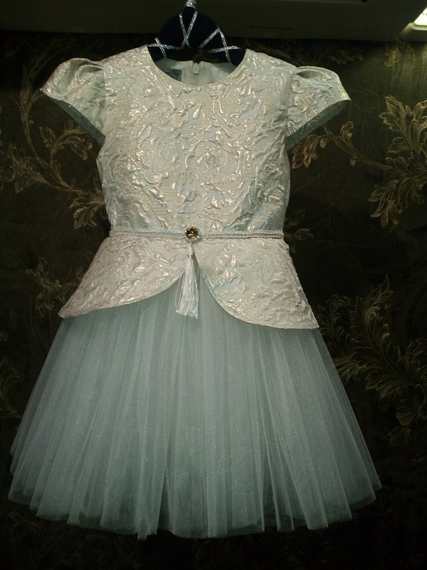 Снежинка цвета айвори от Armas-Olga