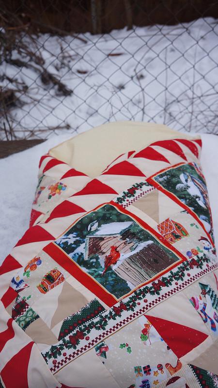 Новогоднее лоскутное) от Fazilka