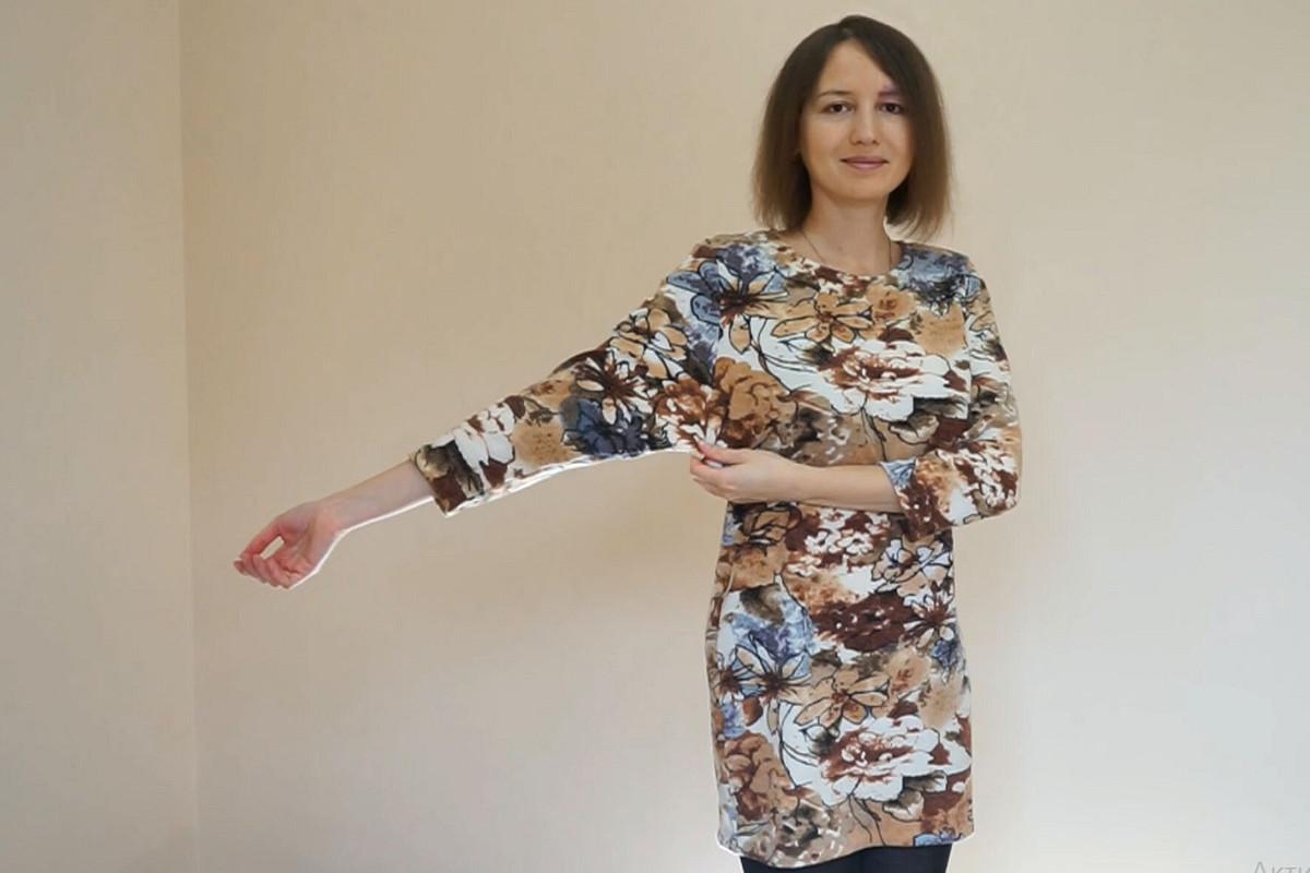 Простое платье длядома от Larisa07