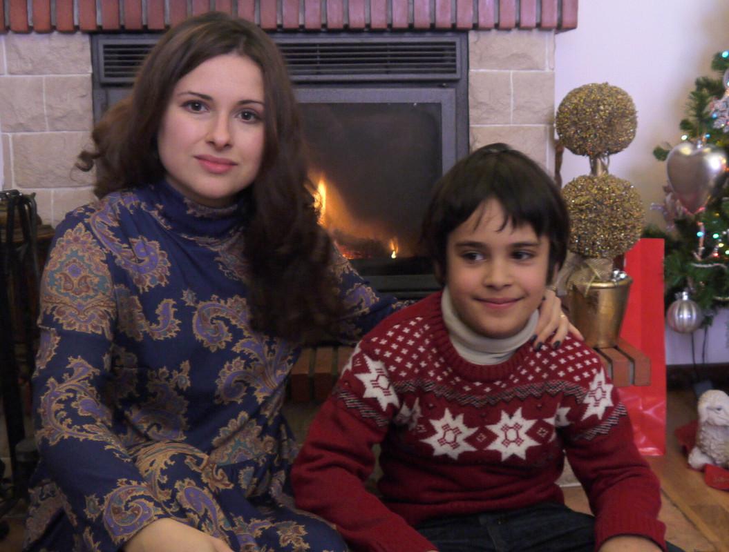 Рождественский узор от Ksenia Tinoco