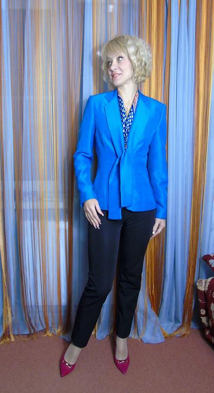 Бирюзовый костюм от gri331